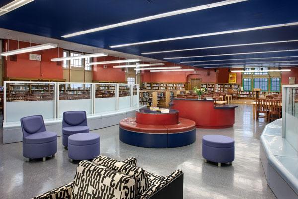 Library Design Showcase 2012 Service Flexibility